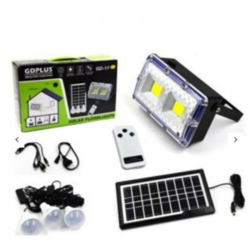 GD-11 Solar Energy System with colored box 3.5W/9V solar panel