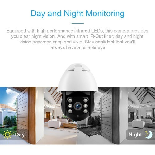 1080P Wireless Outdoor IP Security CCTV Camera