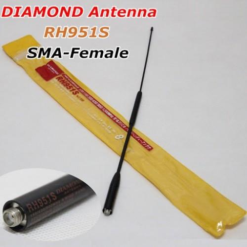 ΑΝΤΑΛΑΚΤΙΚΗ ΚΕΡΑΙΑ VHF-UHF 35CM DIAMOND rh951s