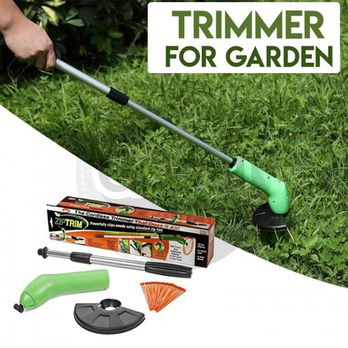 Zip Trim Portable Grass Trimmer Weed Trimmer Ziptrim Dropship Trimmer Garden Decoration Tool