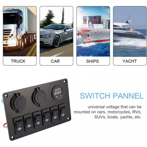 boat SWITCH PANEL AUTO - MOTO