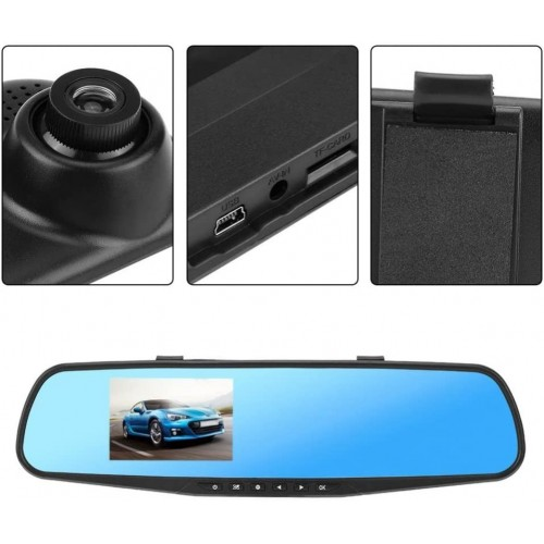 1080P top selling mirror CAR dvr,car dash cam ,car dash cam rearview,Car Rear View Mirror DVR