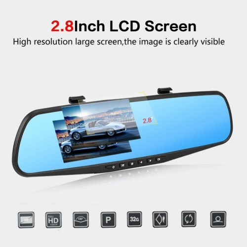 VR-140 CAR VIDEO RECORDER MIRROR