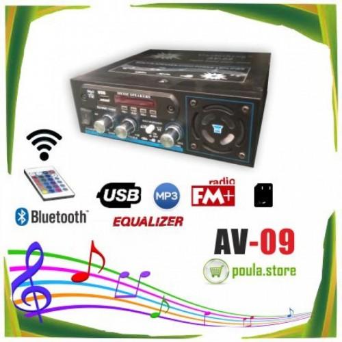 ΡΑΔΙΟ ΕΝΙΣΧΥΤΗΣ HI-FI + USB - MP3 + HXEIO