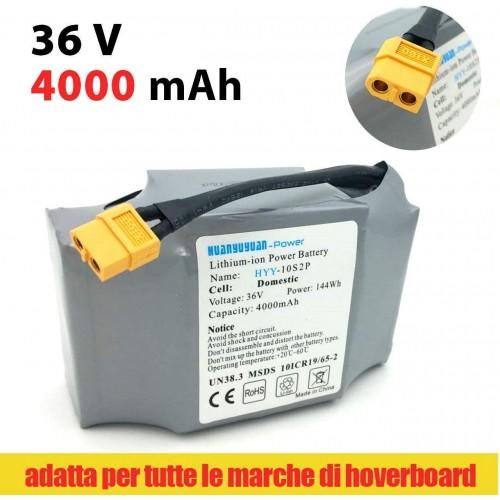 Battery Hoverboard/Electric Scooter - Huayuyuang 4000 mAh/36 V
