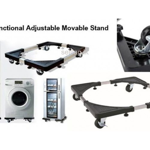 Movable Stand For Washing Machine And Refrigerator