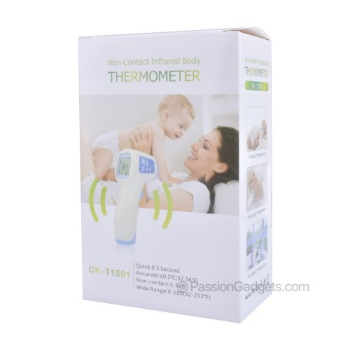 Thermometer Infrared Forehead And Ear CK-T1501 Suitable For Baby, Infant,Kids And Adults