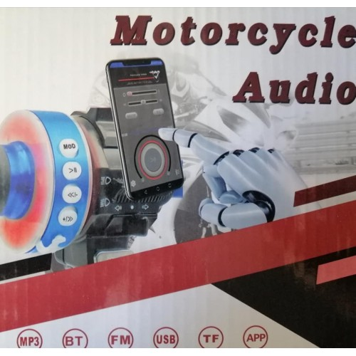 Motorcycle Audio System FM Radio Stereo Amplifier Speaker MP3 Audio System