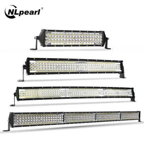 SLIM ΑΔΙΑΒΡΟΧΟ LED LIGHT BAR 396LED