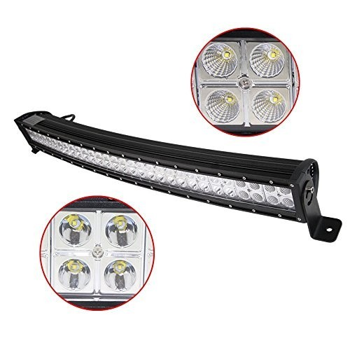 180W LED Light Bar Spot Flood Light  60/30° Combo Beam