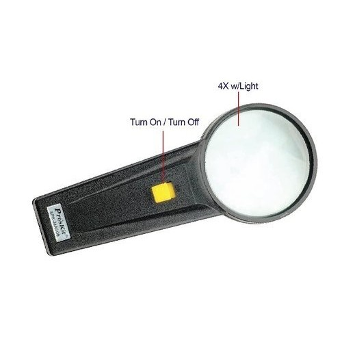 Hand magnifier with lighting 8PK-MA006