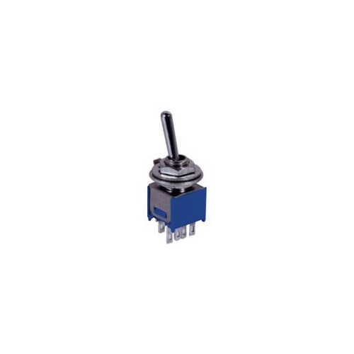 SUPERMINI TOGGLE SWITCH ON-OFF 1.5A/250V 6P SMTS-202-2A1 JTG