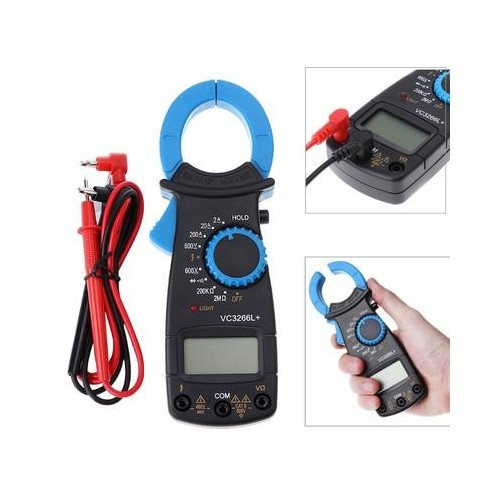 Resistance DC AC Voltage Measuring Tool VC3266 A Clamp Meter Multitester