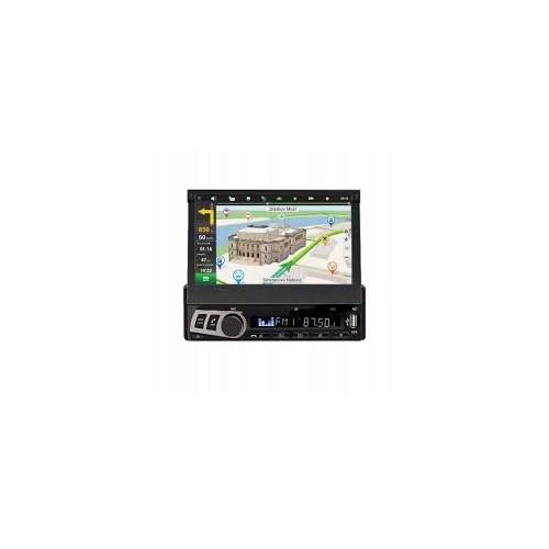 """Hoxiao 1 din стерео аудио Радио Bluetooth 1DIN 7 """"HD выдвижной Сенсорный экран монитора MP5 SD FM USB автомагнитолы плеер"""