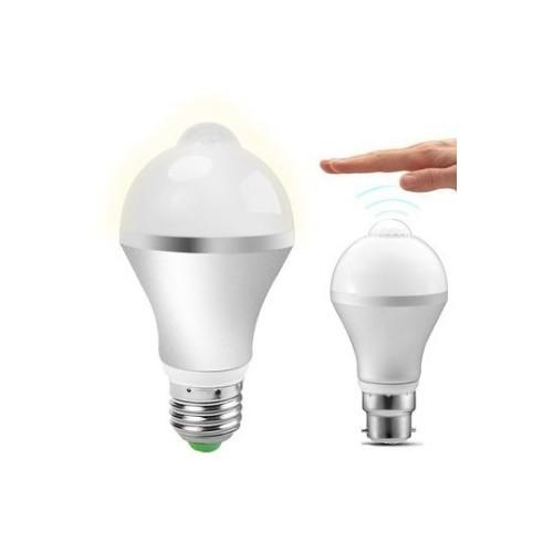 9W E27 Infrared Body PIR Motion Sensor Lamp Auto Smart LED