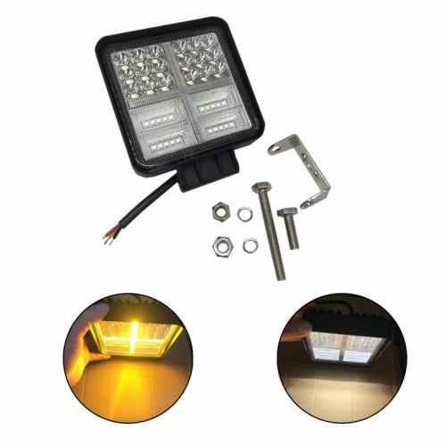 400W 6000K 4inch LED Work Light Bar Flood Spot Beam