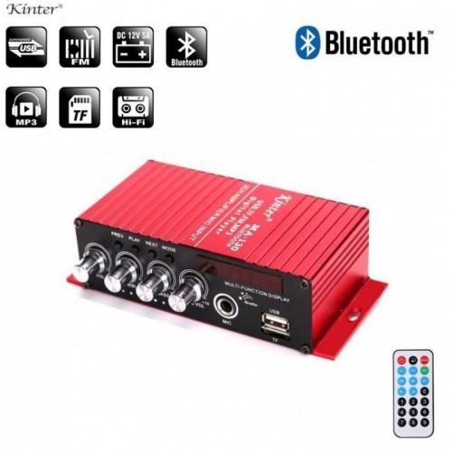 12v RADIO ΕΝΙΣΧΥΤΗΣ 2 ΚΑΝΑΛΙΩΝ - MP3 - USB - SD