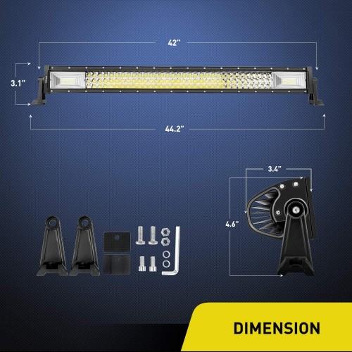 648w led 3row LED BAR
