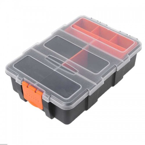 Plastic Parts Combined Transparent Tool Case Screw Containers Component Storage Case Hardware accessories tool box