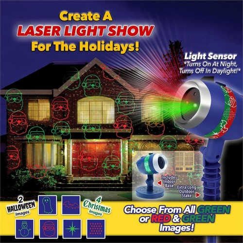 Star Shower Laser Magic Laser Light Show