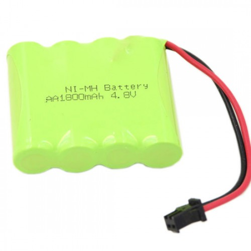 4 x AA 4.8v 1000mAh NiMh Battery Pack