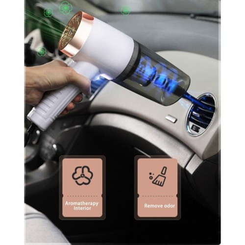 Car Vacuum Cleaner Wet Dry Dual Use Portable Mini Handheld Auto Vacuum Cleaner