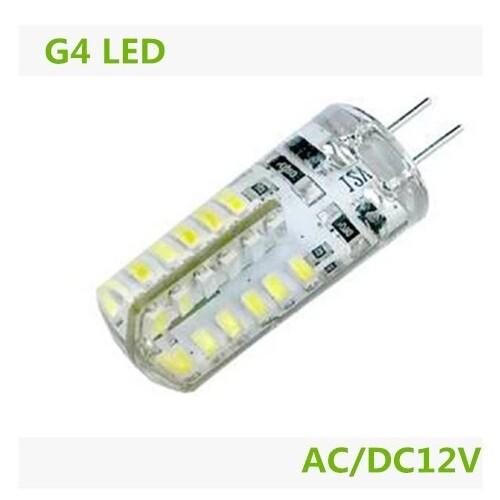 G4 DC12V 2.5W 140lm 6000K Warm White 48-SMD 3014 LED Bulb