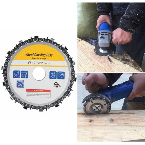 Grinder Disc Chain Saw takes the muscle work out of cutting