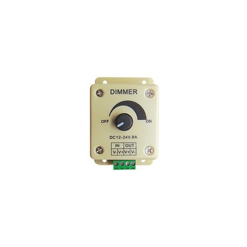 LED STRIP ACCESSORY DIMMER 12-24V 90W 1 CHANNEL