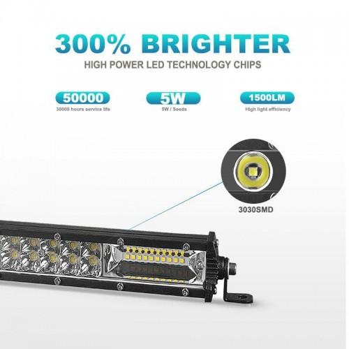 ΜΠΑΡΑ ΠΡΟΒΟΛΕΑΣ 100 LED 6000K LED 82 CM LIGHT BAR