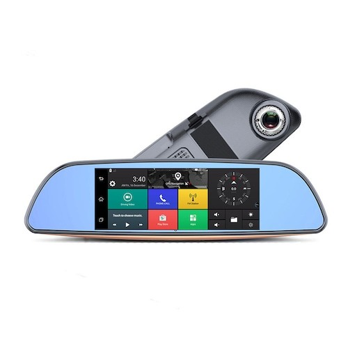 3G Car DVR Android 5.0 Bluetooth WIFI GPS Dual Lens Rearview