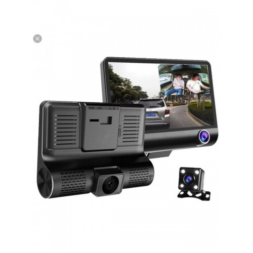 WDR Car Dual Dvr Lens Camera Video Recorder