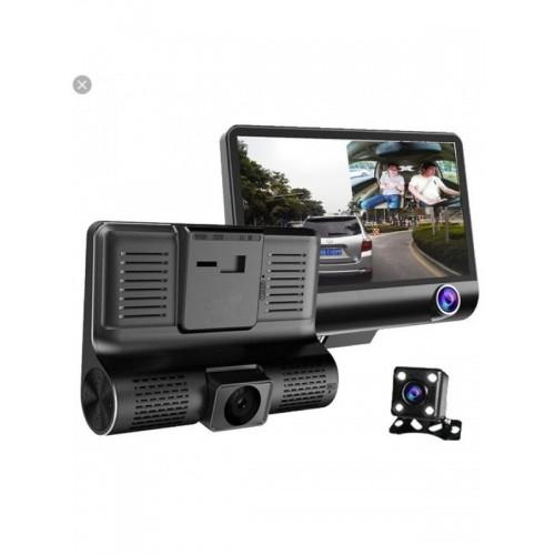 WDR Car Dual Dvr Lens Camera Video Recorder