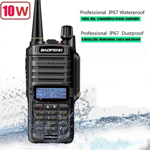 BAOFENG ΑΣΥΡΜΑΤΟΣ ΠΟΜΠΟΔΕΚΤΗΣ UHF/VHF WALKIE TAKIE BF-UV9R PLUS