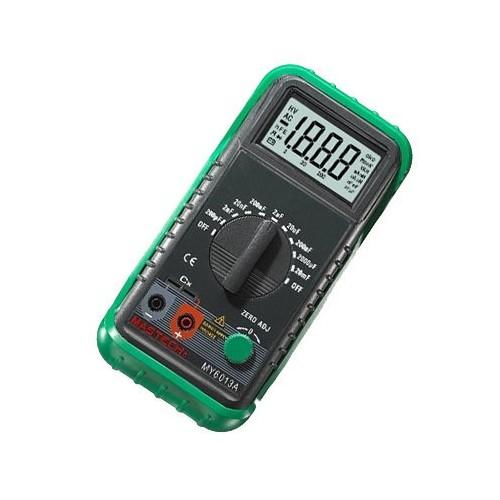 013L Auto Range Digital LCD Capacitor Capacitance Tester Meter Multimeter
