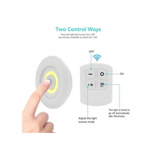 3 in 1 Led light with Remote Control Emergency Light