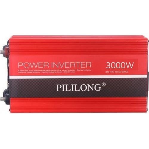PILILONG POWER INVERTER ΑΥΤΟΚΙΝΗΤΟΥ 24V to 220V 3000W