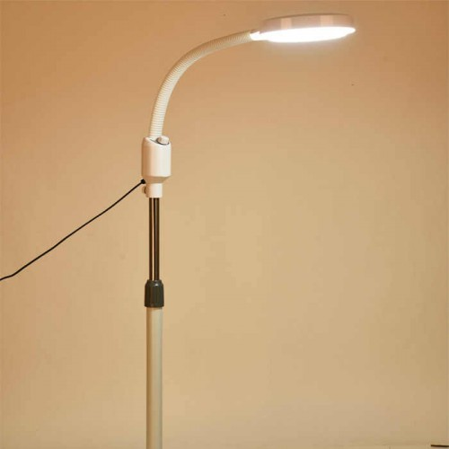 LED Long Arm Lights Flexible Stand Floor Magnifier