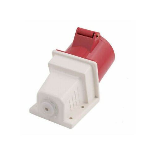 FEMALE WALL SOCKET 4P 32A 124-6K IP44 PCE
