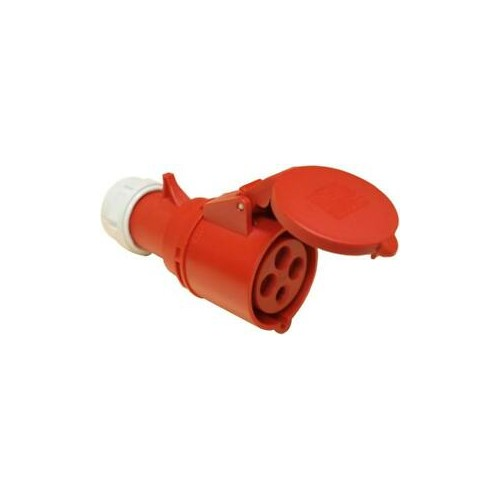 FEMALE INDUSTRIAL PLUG 4P 16A 214-6 IP44 PCE