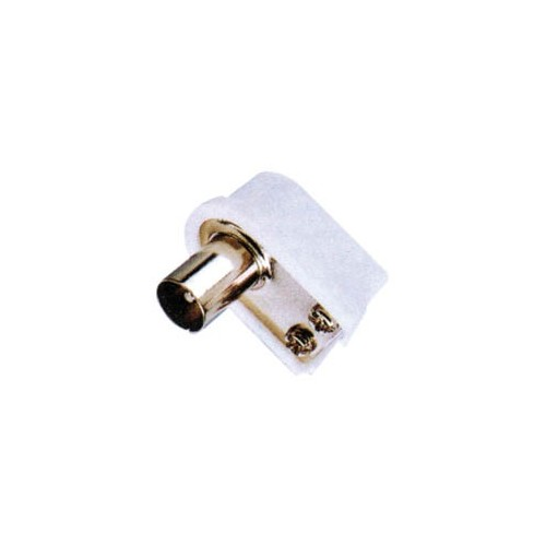 PAL MALE 9.5mm² (TV) PLASTIC SCREW-TYPE