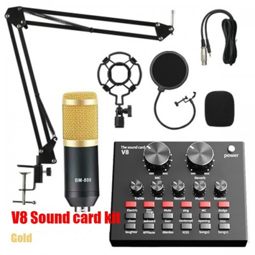 Live Broadcast Equipment BM800 Condenser Microphone