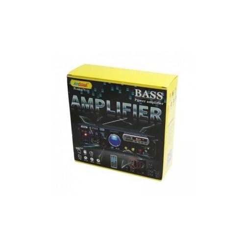 BT-266 amplificador AC220V DC12V canal 2,0 80W + 80W Bluetooth