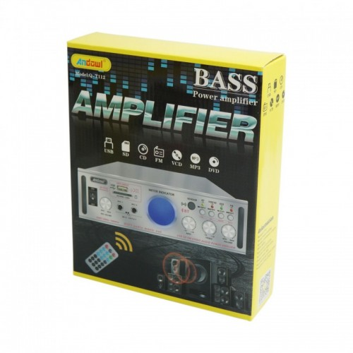 KARAOKE AMPLIFIER HI-FI + USB - MP3 + CONTROL