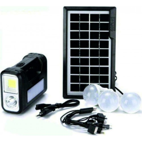 GDLITE GD-8017 Plus Solar Lighting System Kit
