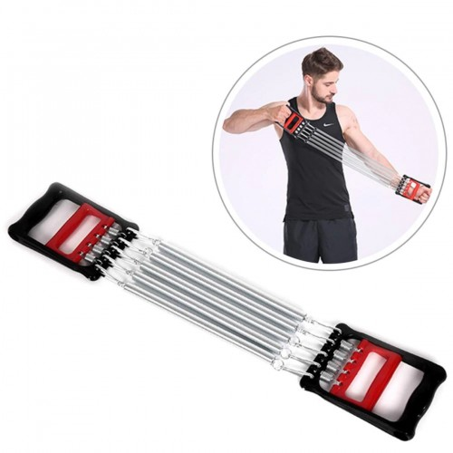 5 Spring Chest Expander Exercise Puller Muscle Stretcher Training Gym Pull LIVEUP Β-3641