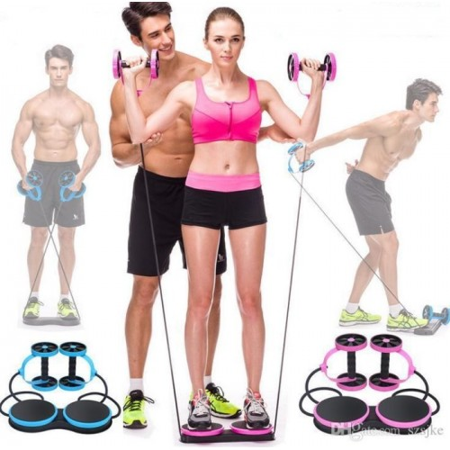 Exercise and Fitness Wheel for Home Gym,Abdomen and Arm Workout Equipment Waist Slimming Trainer for Man and Women
