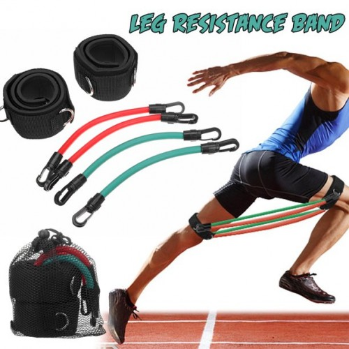 Leg Run Resistance Bands Speed Strength Agility Training Band Workout for All Sports