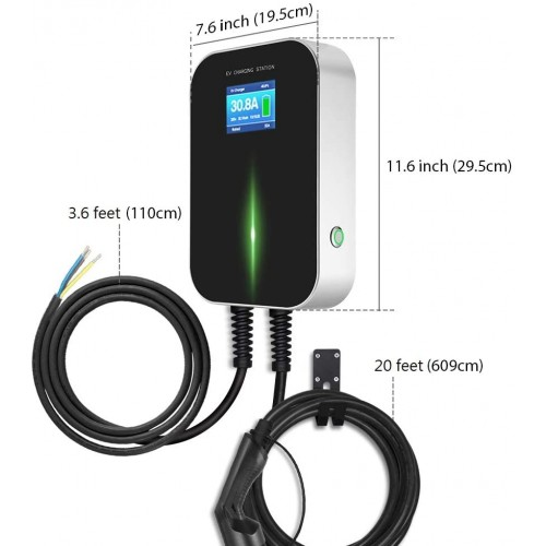 Electric Vehicle (EV) Charging Station with 6m