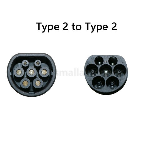 Charging Cable Type 2 to Type 2 16A 3 Phase 5m